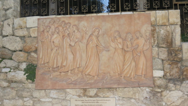 """Church of Saint Peter in Gallicantu -  """"After the Supper, Jesus left with his disciples and crossed the Kidron valley"""""""