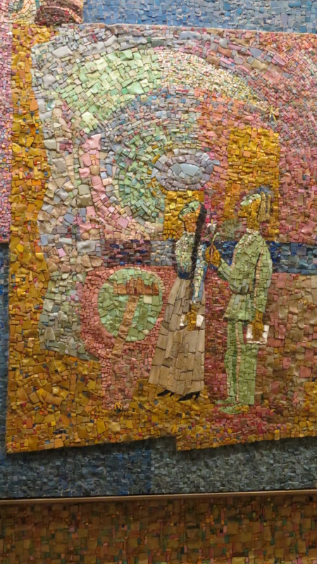 Nahum Gutman's Mosaic Wall -Alexander Penn and Chana Robina