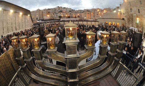 Hanukkah in Jerusalem - https://thescriblerians.wordpress.com/2015/12/06/10325/