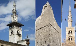 Minarets in Damascus