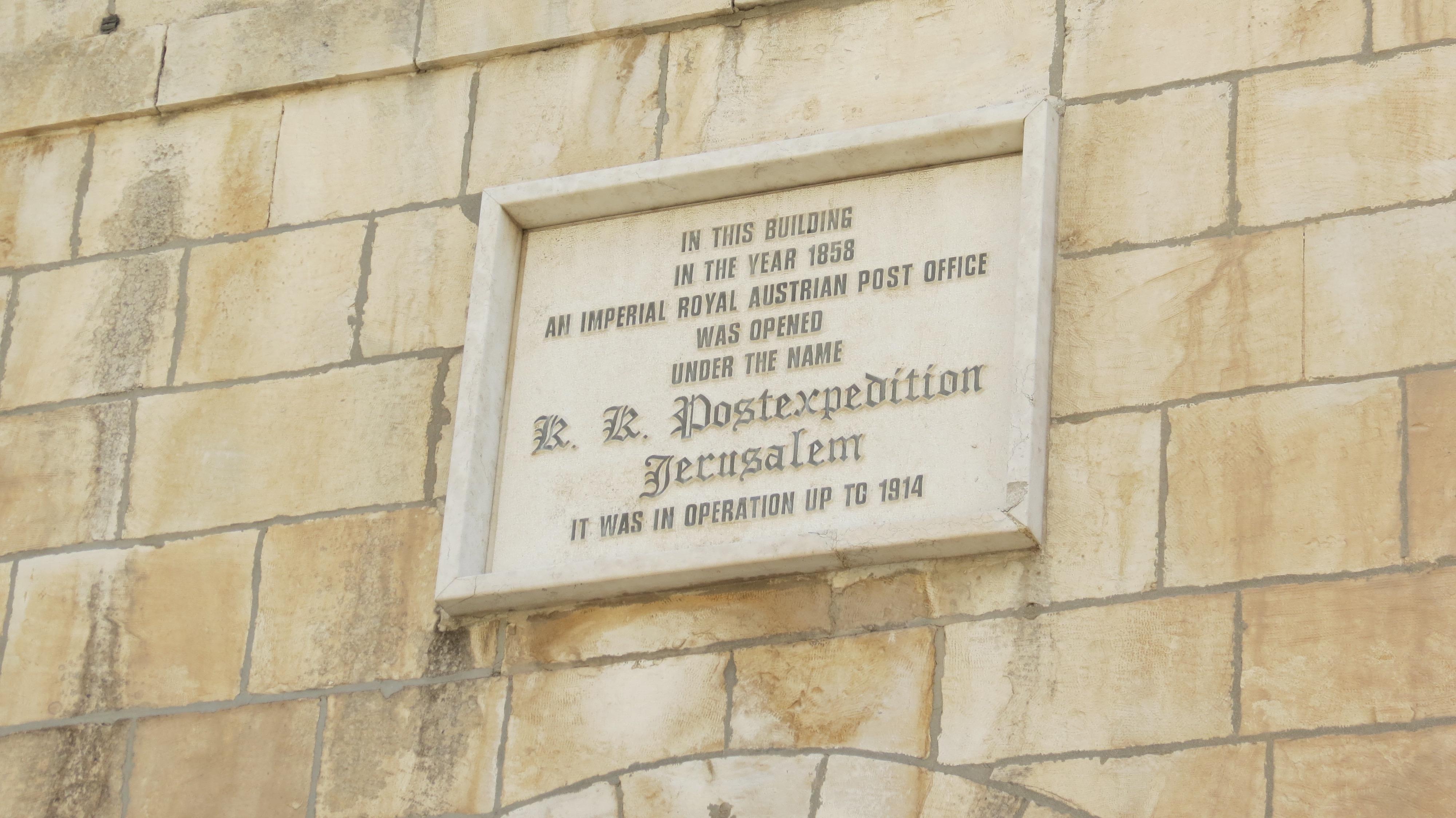 Austrian Post Office till 1914