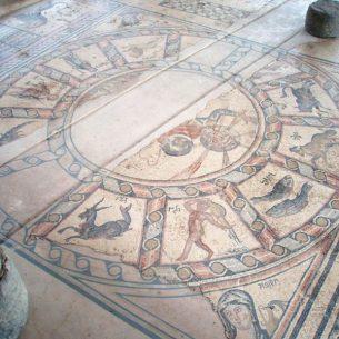 Hamat-Tiberias-Zodiac Floor - Photo:Bukvoed