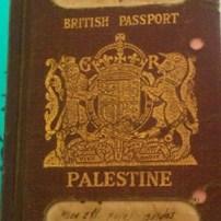 British_Mandate_Palestinian_passport Photo: وسام زقوت