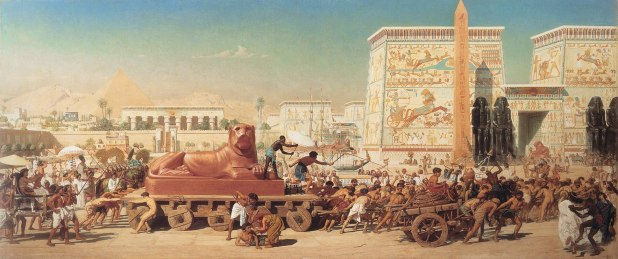 Children of Israel in Egypt (1867 painting by Edward Poynter)