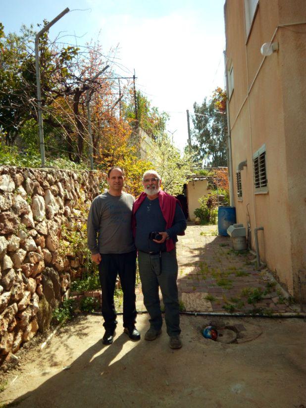 Shadi Khalloul and Hoshvilim