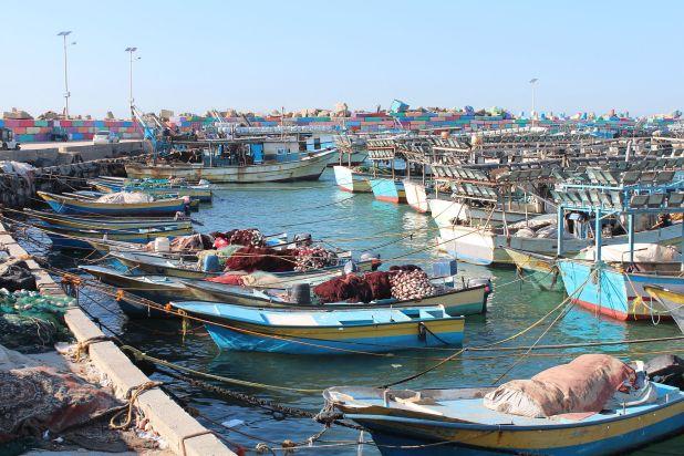 Port of Gaza Photo: Mahmoud Navash