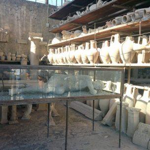 Plaster Casts of Pompeii