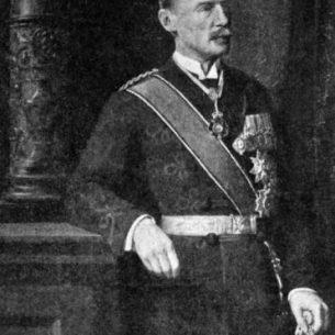 Portrait painting of Sir Henry McMahon (1862–1949). Public Domain