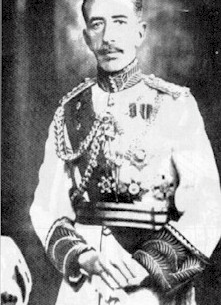 Emir Faisal King of Greater Syria 1920 and King of Iraq 1921-1933 - Public Domain