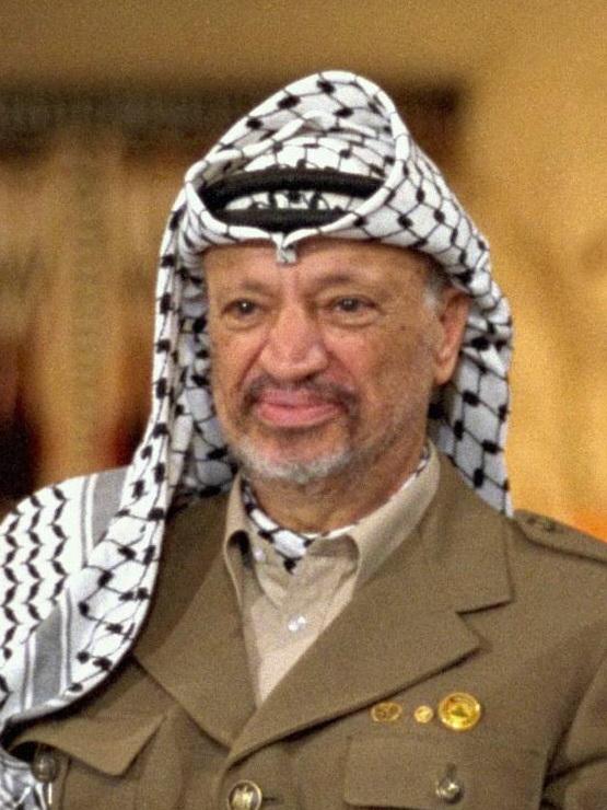 PLO Chairman Yasser Arafat Photo: IsraelGovernment Press Office