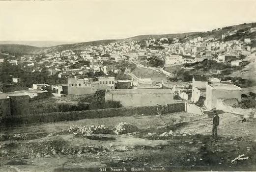 Nazareth, Palestine, Early 20th Century Photo:William Eleazar Barton