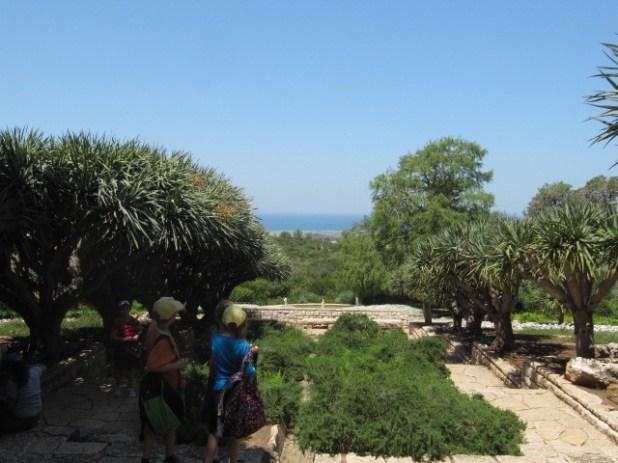Ramat Hanadiv - View of the Mediterranean