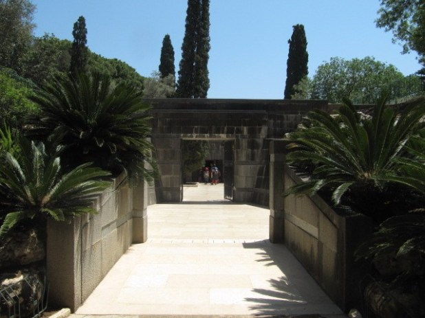 Entrance to Rothschild Graves