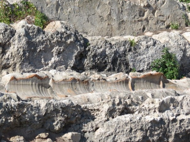 Ceramic pipes in High Aquaduct