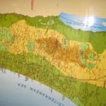 Laminated Wall Map Of Israel 7 Long English A Bestseller Israel Book Shop