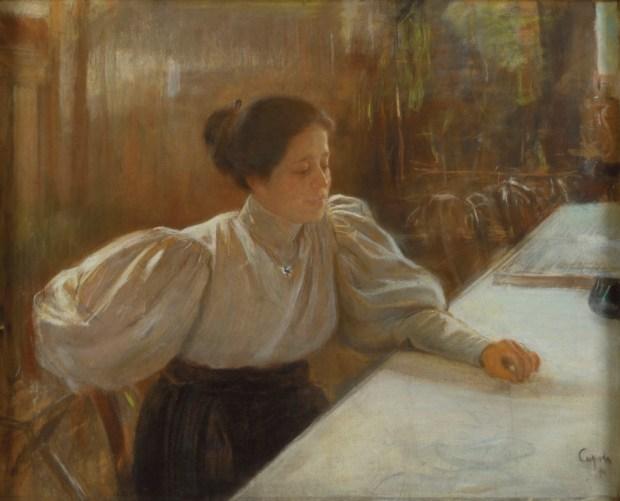 ואלנטין סרוב, דיוקן הגברת ממונטובה