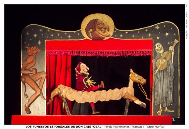 Festival Internacional de Teatro de Bonecos - Ano 2010. Don Cristobal - Compagnie Pélélé