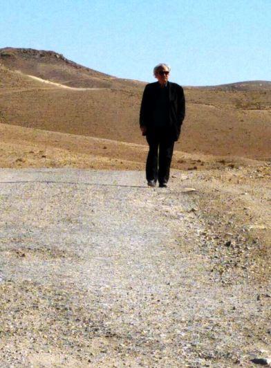 Яннис Кунеллис в Негеве. Фото: Нирит Дахан