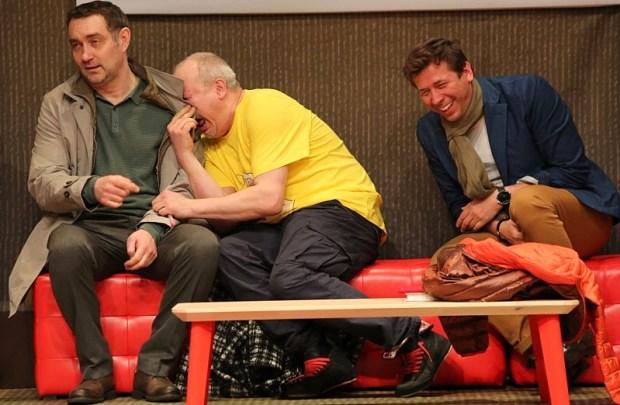 Сцена из спектакля«Друзья». Фото: Анна Ованесова