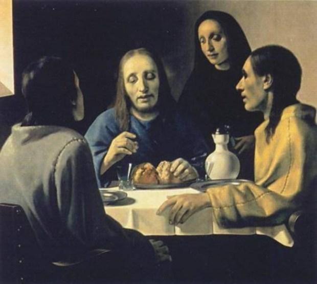 Фиг.7 Вермеер Христос в Эммаусе от ван Меегерена