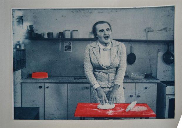 Шакар Маркус |м.р. Петах-Тиква, 1972 | Проживает и работает в Тель-Авиве | «Голда», 2016 из одноименной видео-работы 2013 г. | Фрезеровка| Courtesy of the artist and The Gottesman Etching Center, Kibbutz Cabri