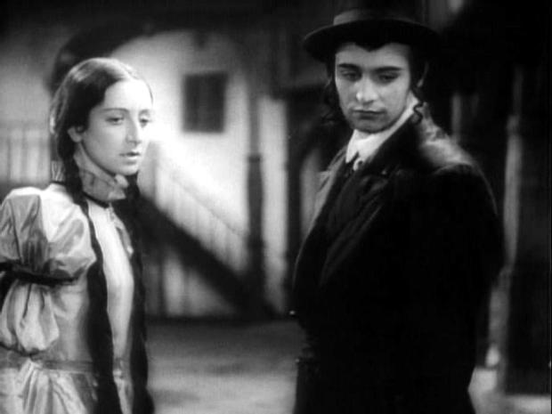 Ханан и Лея. Польский фильм «Dybuk» (1937)