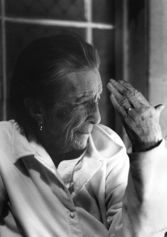 Louise Bourgeois2003 Photo © Nanda Lanfranco