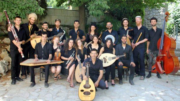 Ансамбль андалузской музыки Иерусалимской Академии музыки и танца. Фото: Бар Мазор