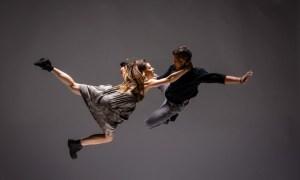 "Сцена из балета ""Телеметрия"" Шая Кублера. Фото - © DavidCooper"