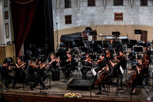 Камерный оркестр Академии. © Luisa Burcatt Salomon