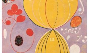 The Ten Largest, No. 7, Group IV, 1907, tempera on paper mounted on canvas, 315×234, courtesy the Hilma af Klint Foundation