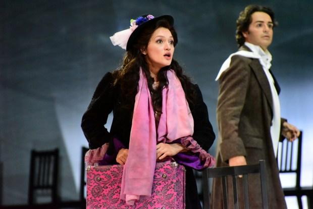 Екатерина Баканова в роли Манон. Фото © Елена Запасская
