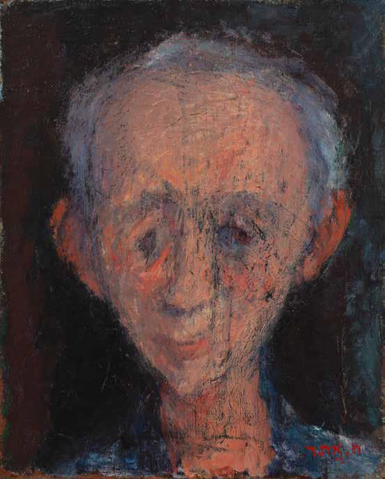 Хаим Атар. Портрет Лючанского. 1949 г.