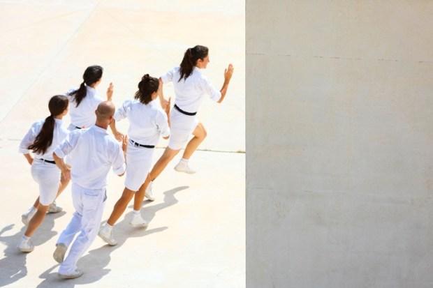 פסטיבל ישראל-מחול-תנועה ציבורית©Avraham Ascaf