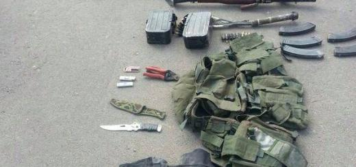 Weapons siezed in Operation Protective Edge, Summer 2014