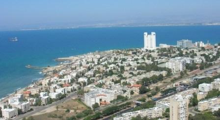 View of Bat Galim, Haifa