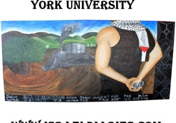 antisemitic mural at York University
