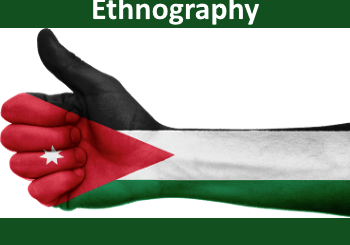 Jordanian flag - Jordan's true ethnography