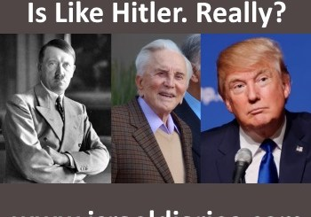 Hitler, Kirk Douglas, Trump