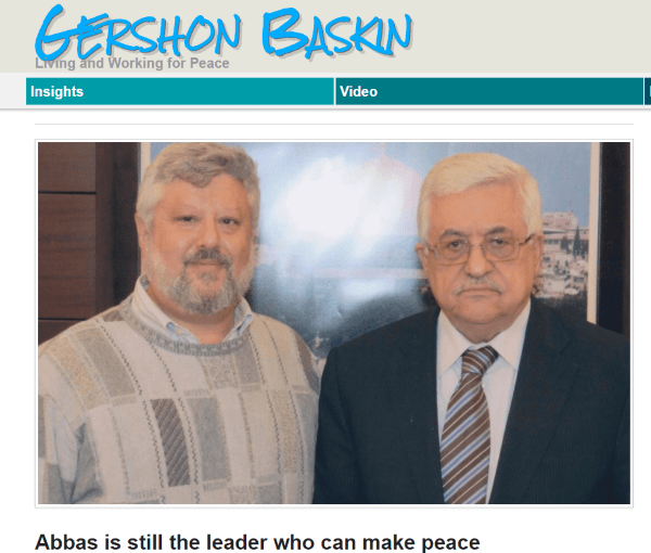 leftist with President Abbas - can there be normalization between Israelis and Palestinian Arabs?