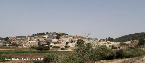 coming close to Ras Ali, Bedouin town