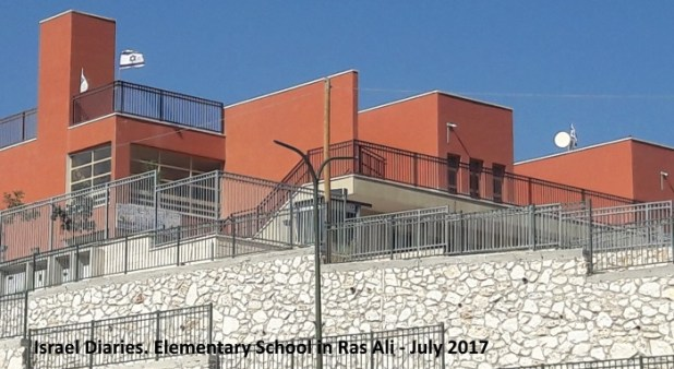 Elementary school in Ras Ali, Bedouin town
