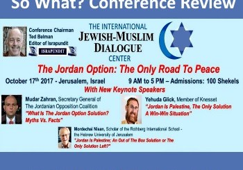 Jordan is Palestine Conference review