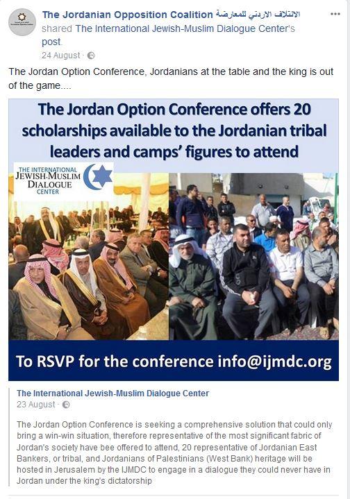 Jordan Is Palestine Conference
