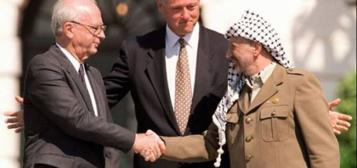 Arafat and Rabin and Clinton - who gave power of attorney to Arafat?