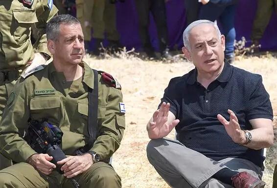Netanyahu n'a pas soutenu la nomination d'une star, mais a préféré le général de division Eyal Zamir, qui était son secrétaire militaire.  Premier ministre et chef de cabinet // Photo: Amos Ben Gershom, GPO