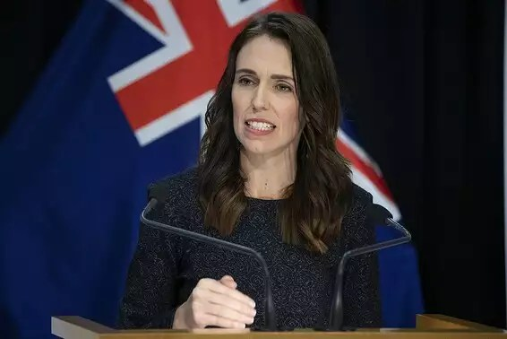 """She spoke to the public - and he listened"", R""From New Zealand Jacinda Arden // Photo: GettyImages"