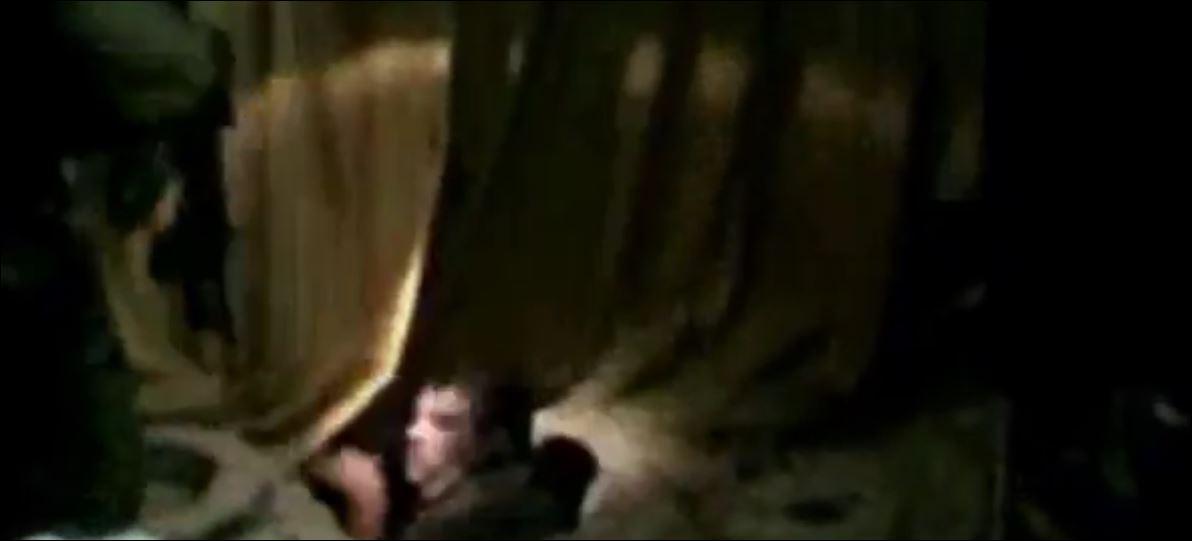 جيش الدفاع يفاجئ إرهابي حمساوي لحظة خروجه من المجرى