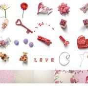 accesorios de corazón