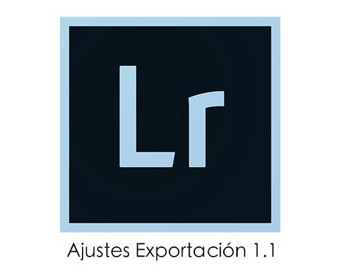 Recursos Lightroom: Ajustes de Exportación 1.1